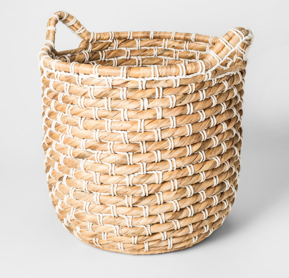 Water Hyacinth Decorative Basket - $29.99