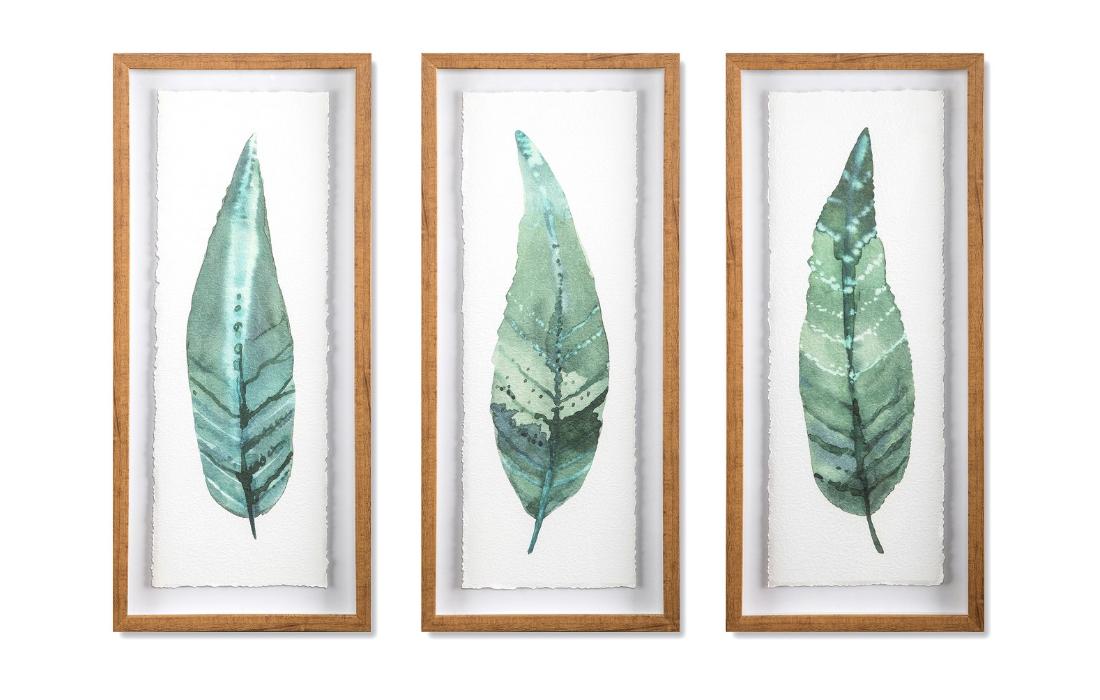Set of 3 Framed Leaves - $69.99
