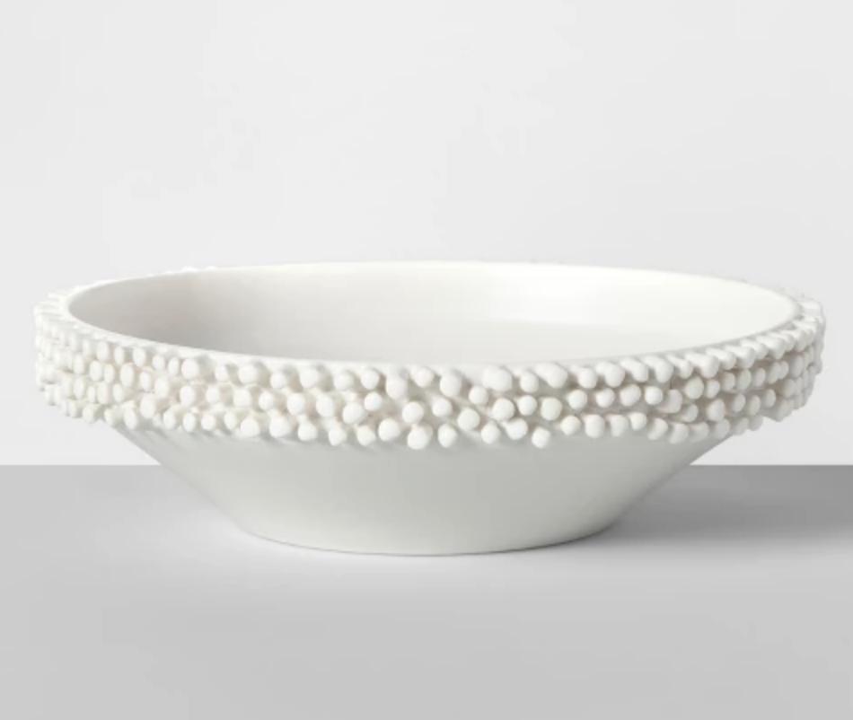 Porcelain Tufted Bowl - $24.99
