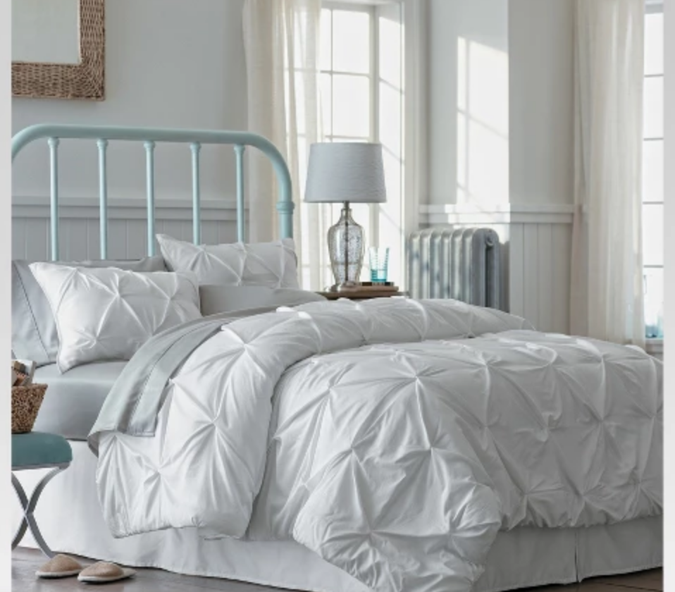 Pinched Pleat Comforter Set - $85.49 for King