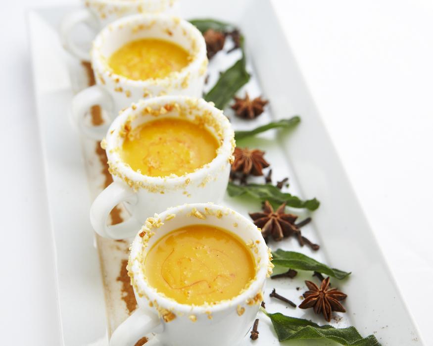 Warm Butternut Squash Soup