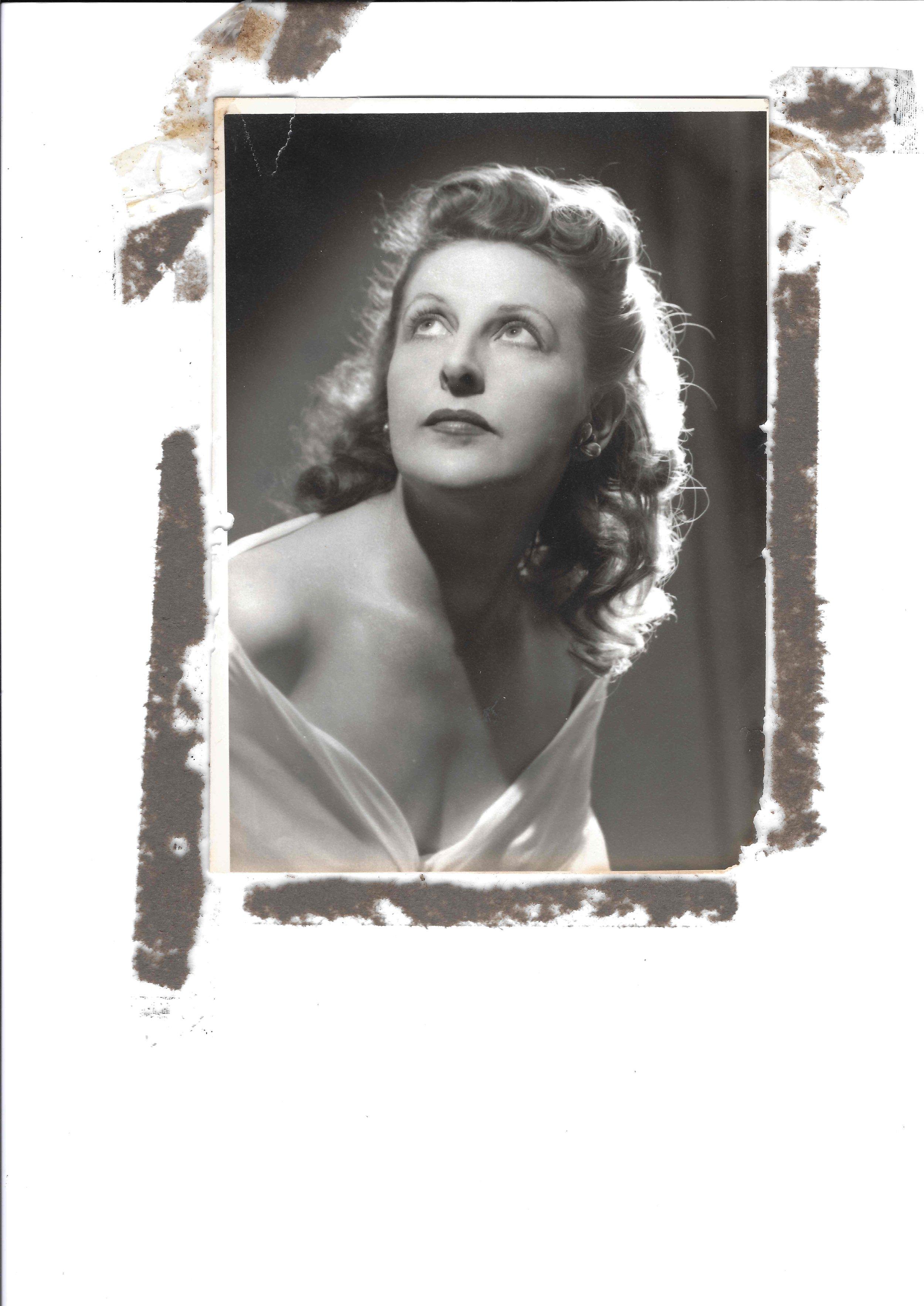Ella circa 1935. Photo by Athol Shmith