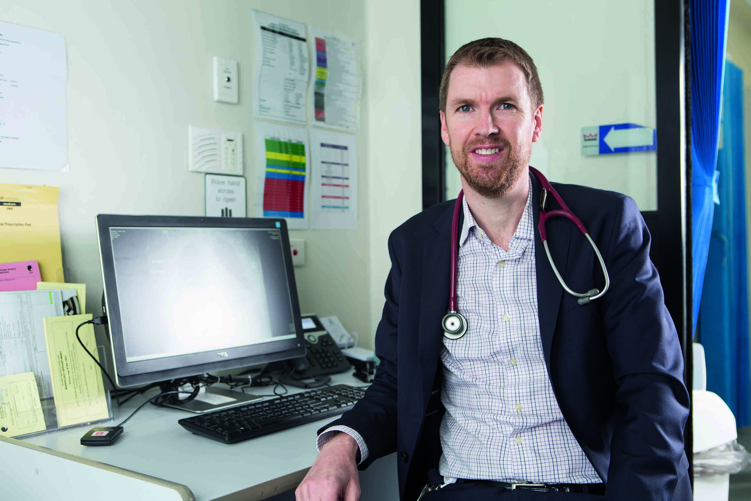 """Dr Peter Kelley says there has been a """"massive"""" increase in Bairnsdale ulcer cases since 2015."""