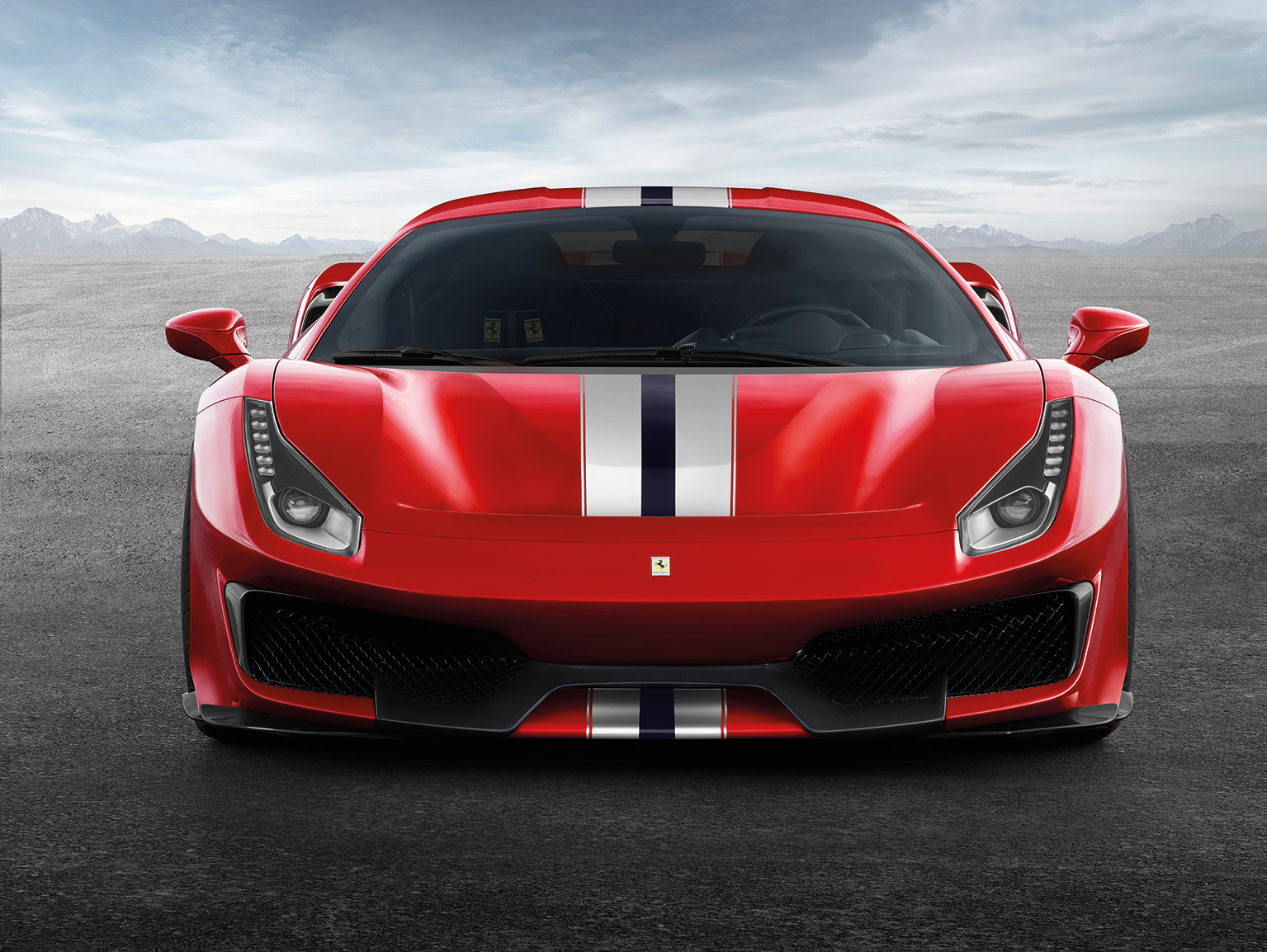 Ferrari's 488 Pista is fitted with the most powerful V8 engine in the company's history.