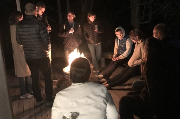 Bonfire and guessing games