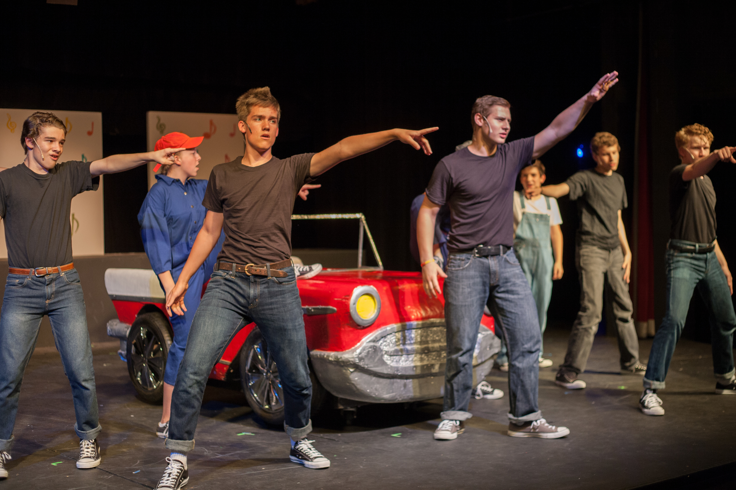 Grease, Summer 2014