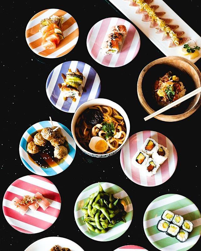 20k FRIDAYS. 5 TO LATE . . . 📸 @zachxrogers  #20kplates #bali #seminyak #dontbelate #sushi