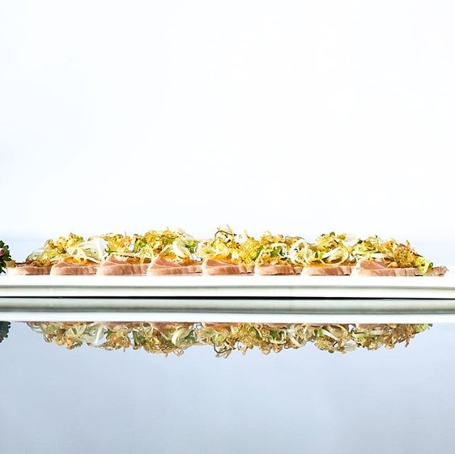 Tuna Ceviche 🥢 Must Try At Sushimi . . . #bali #sushimi #tuna #food #sushi #sushitrain #musttry