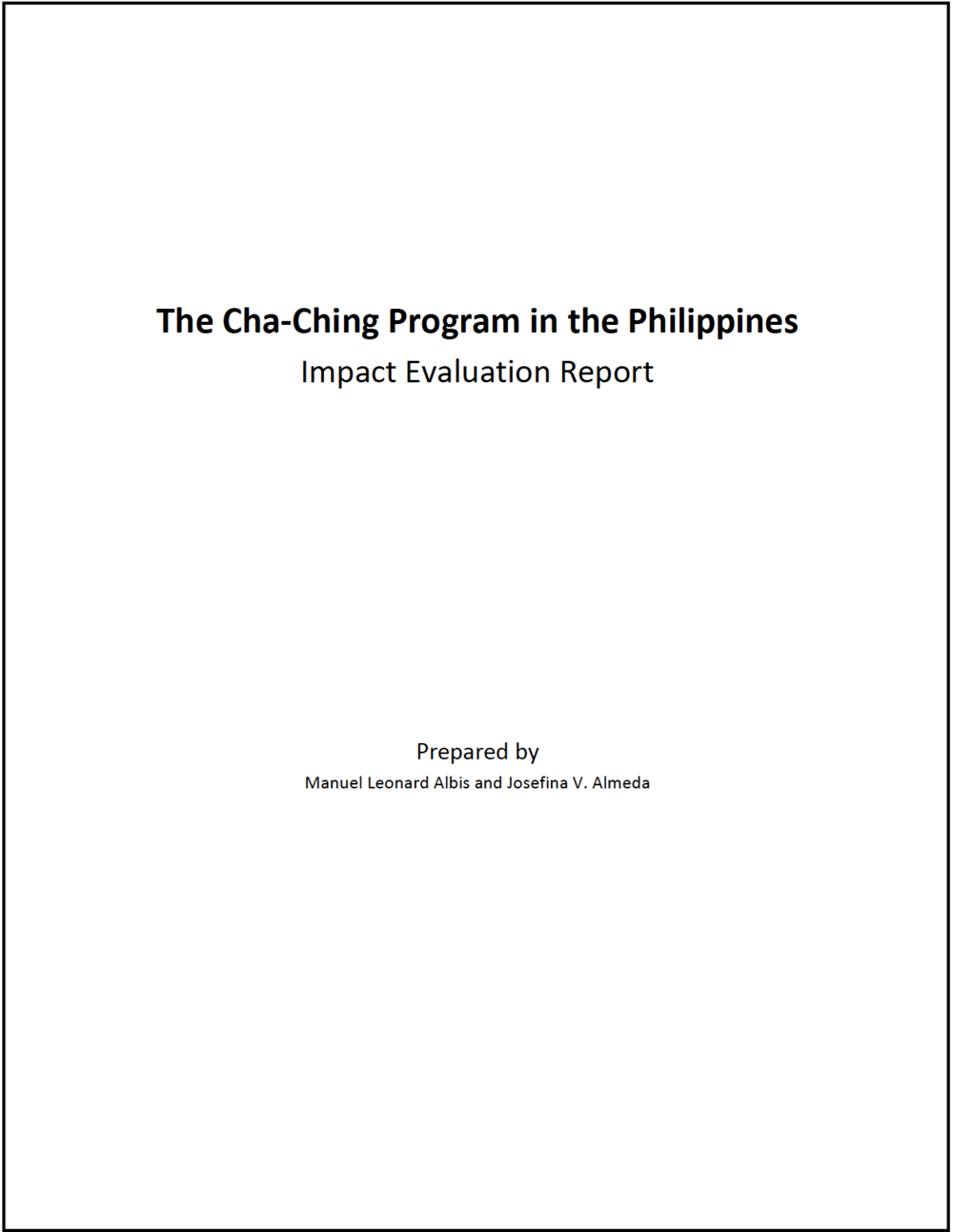 18-The Cha-Ching Program in the Philippines-Impact Evaluation Report-cover.png