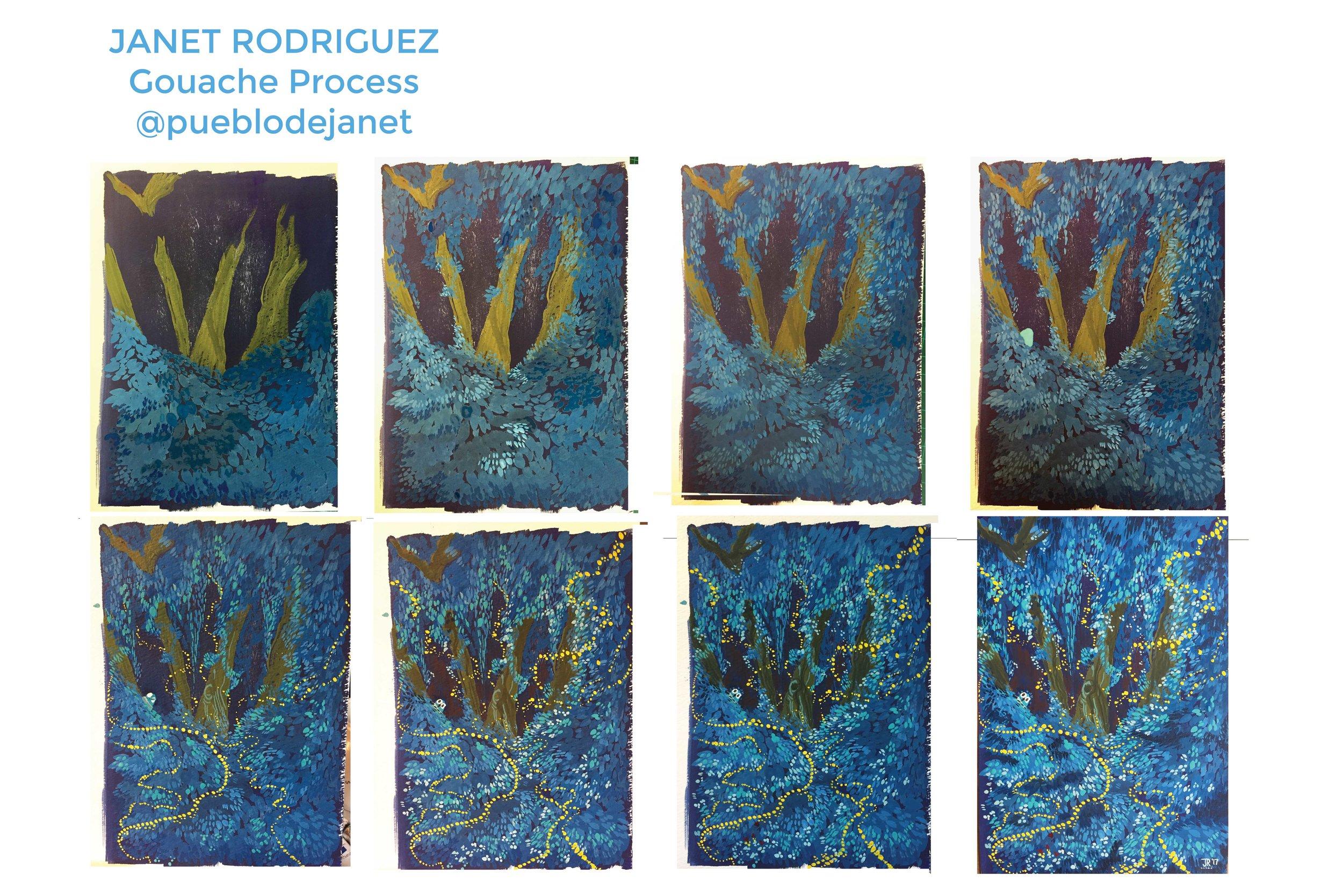Goauche Process, 2017