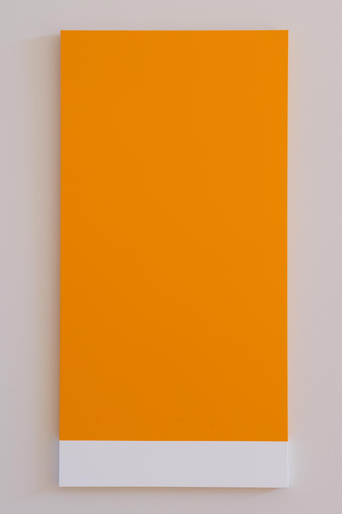 Orange Rectangle, 14-1159 (after Kelly)