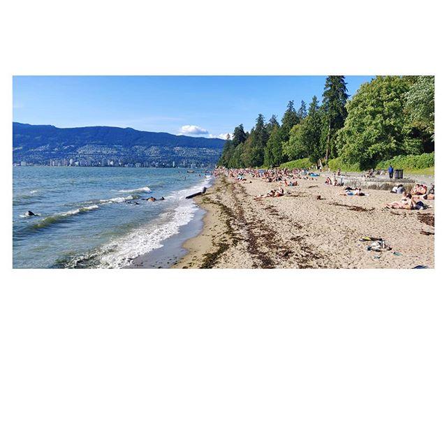 Run to Third Beach, go for a dip, read a bit, run home.