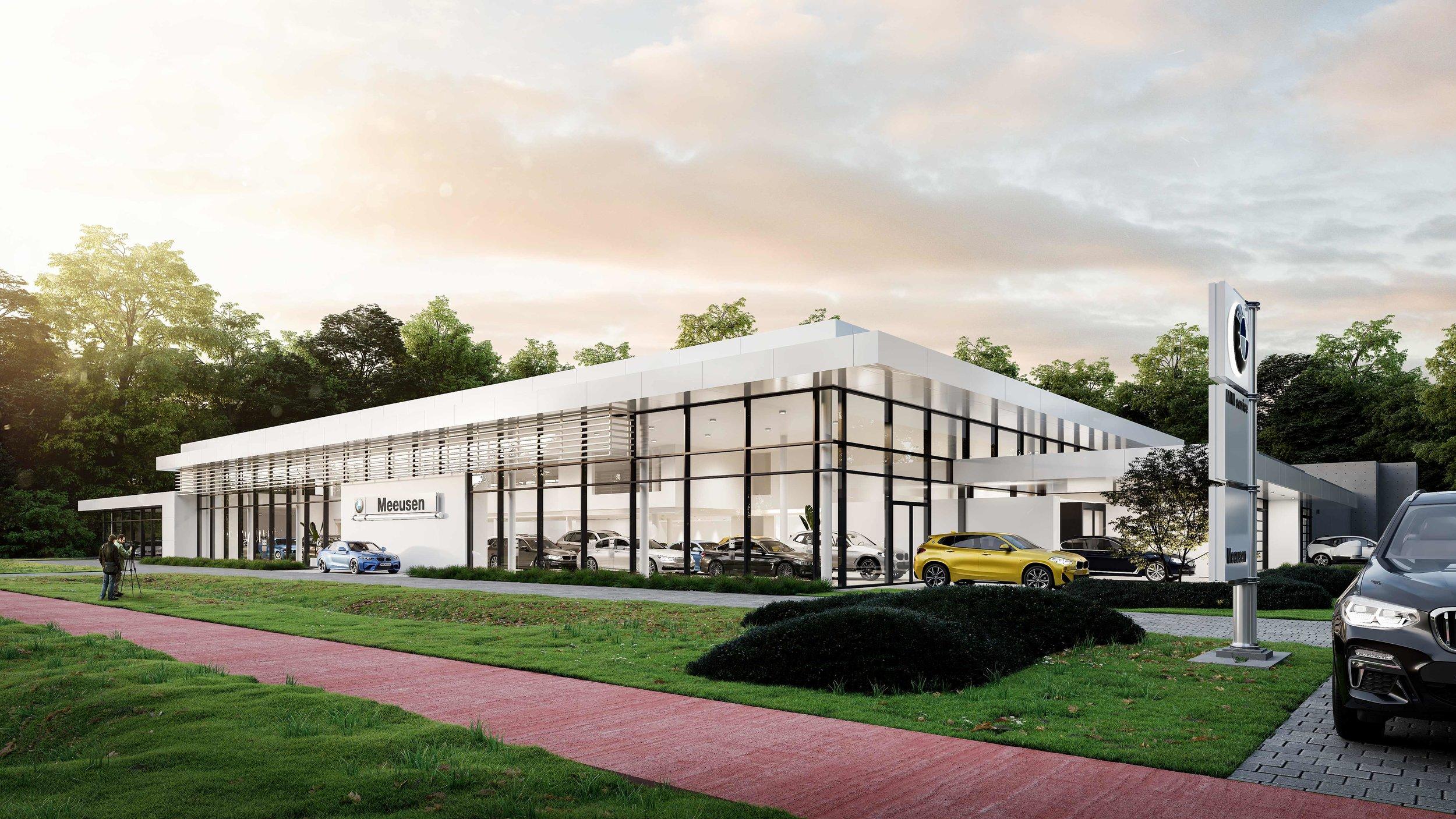 BMW showroom Meeusen
