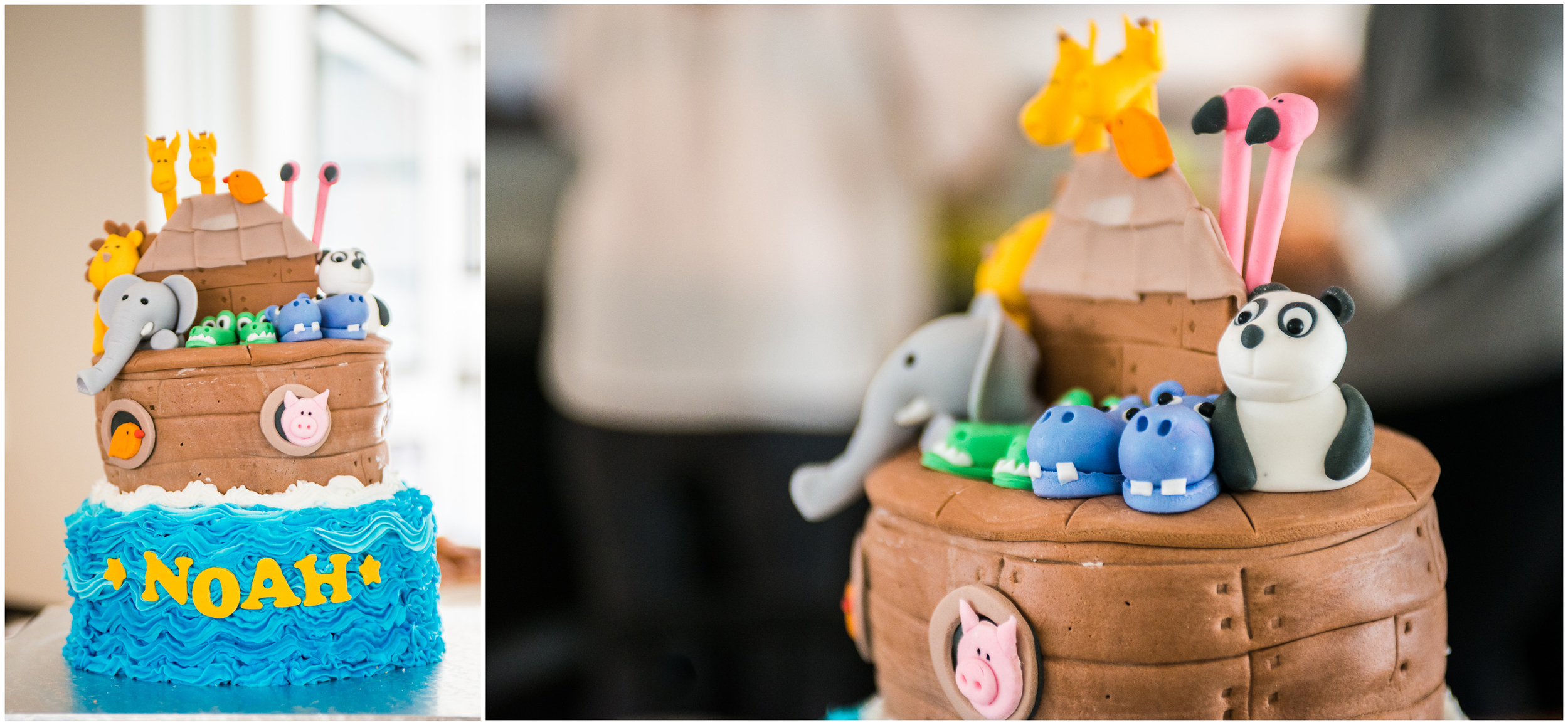 The cutest cake ever. I mean just look at those animals.
