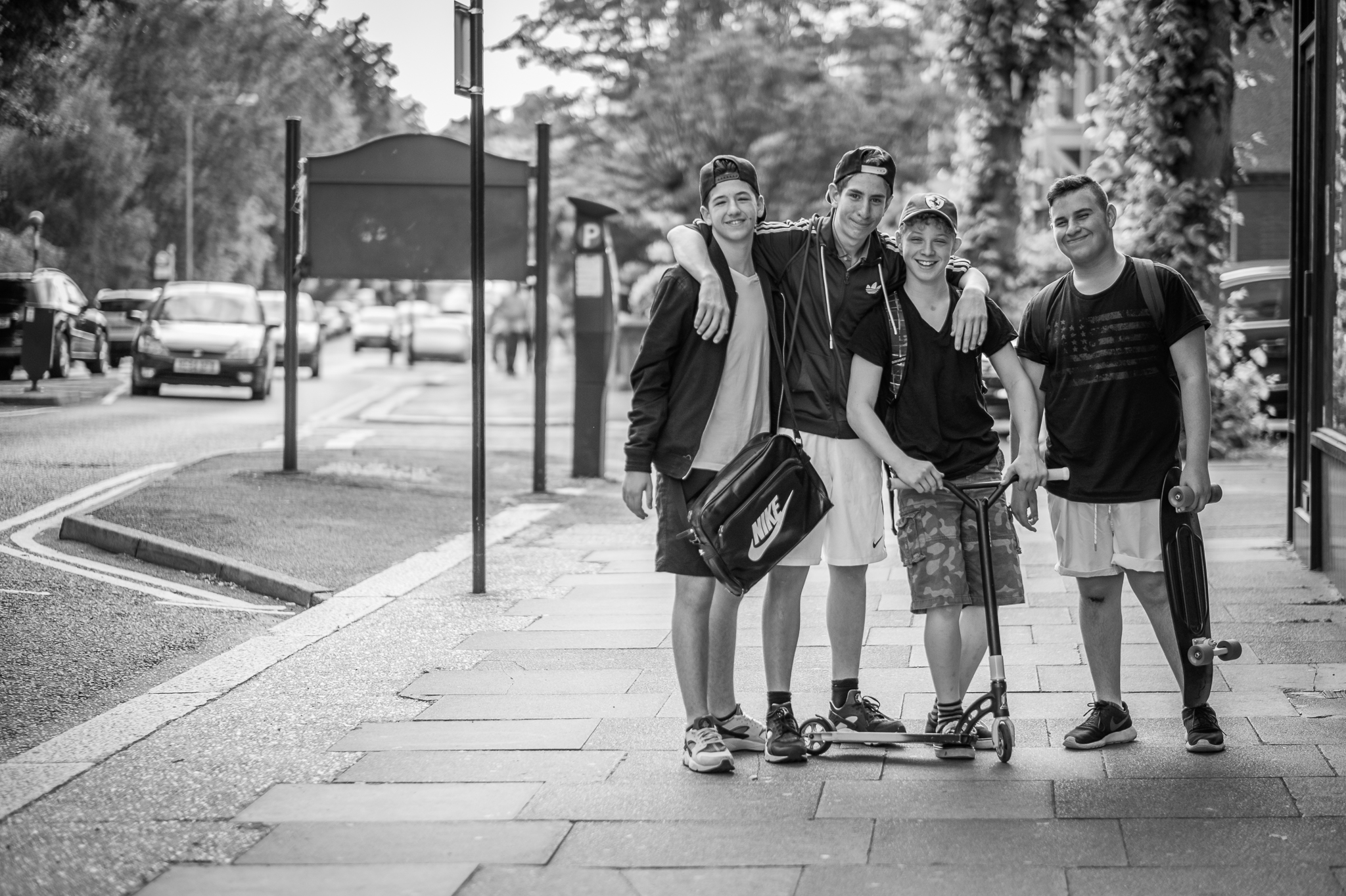 These guys actually asked me to take a photo of them for a change. They were walking by as I was trying to get a nice photo of my brother and his wife and one of them asked if I was taking photos of his friends, I said I wasn't but could if he wanted me to.