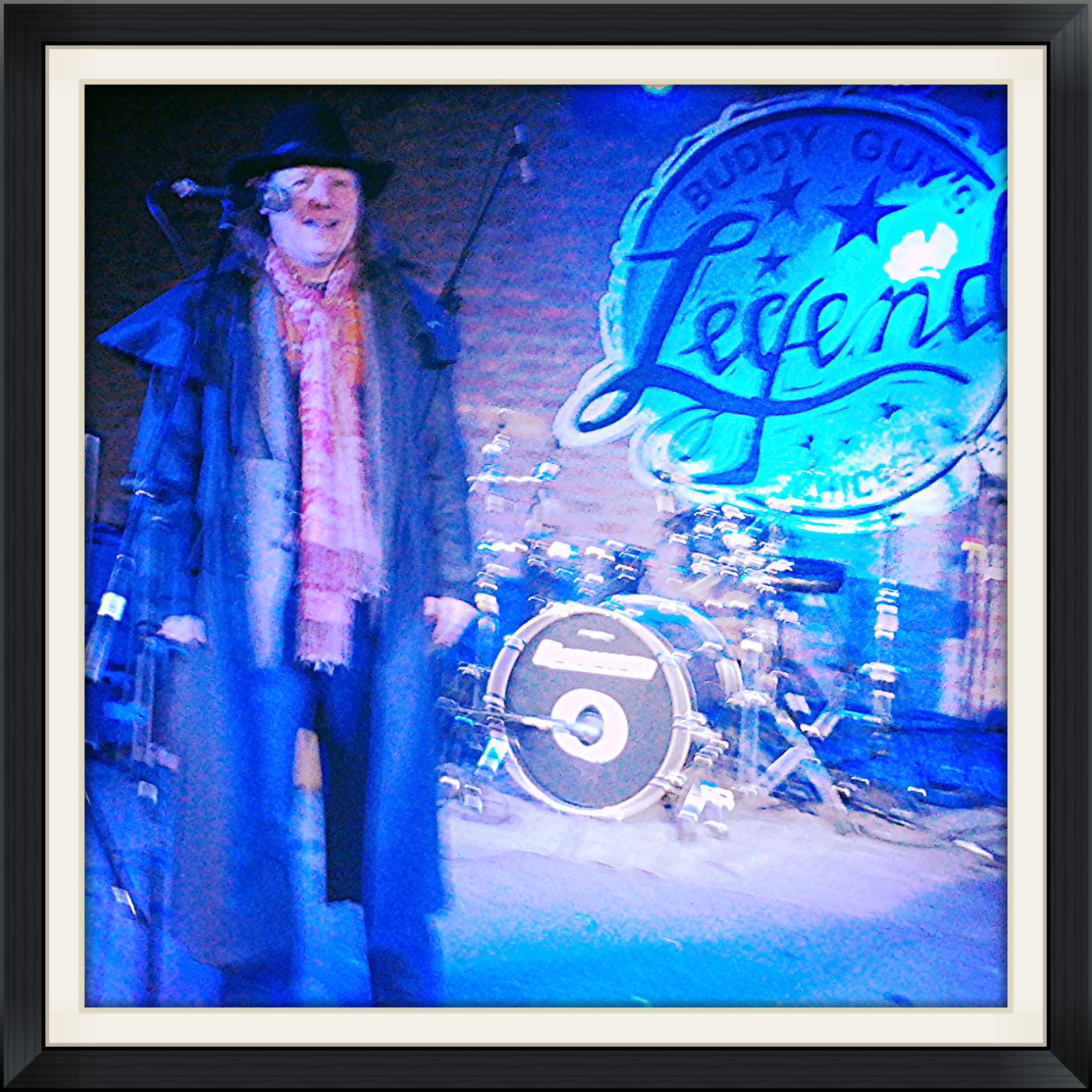 KittC Delaney Sings At Buddy Guys Club /Legends in Chicago