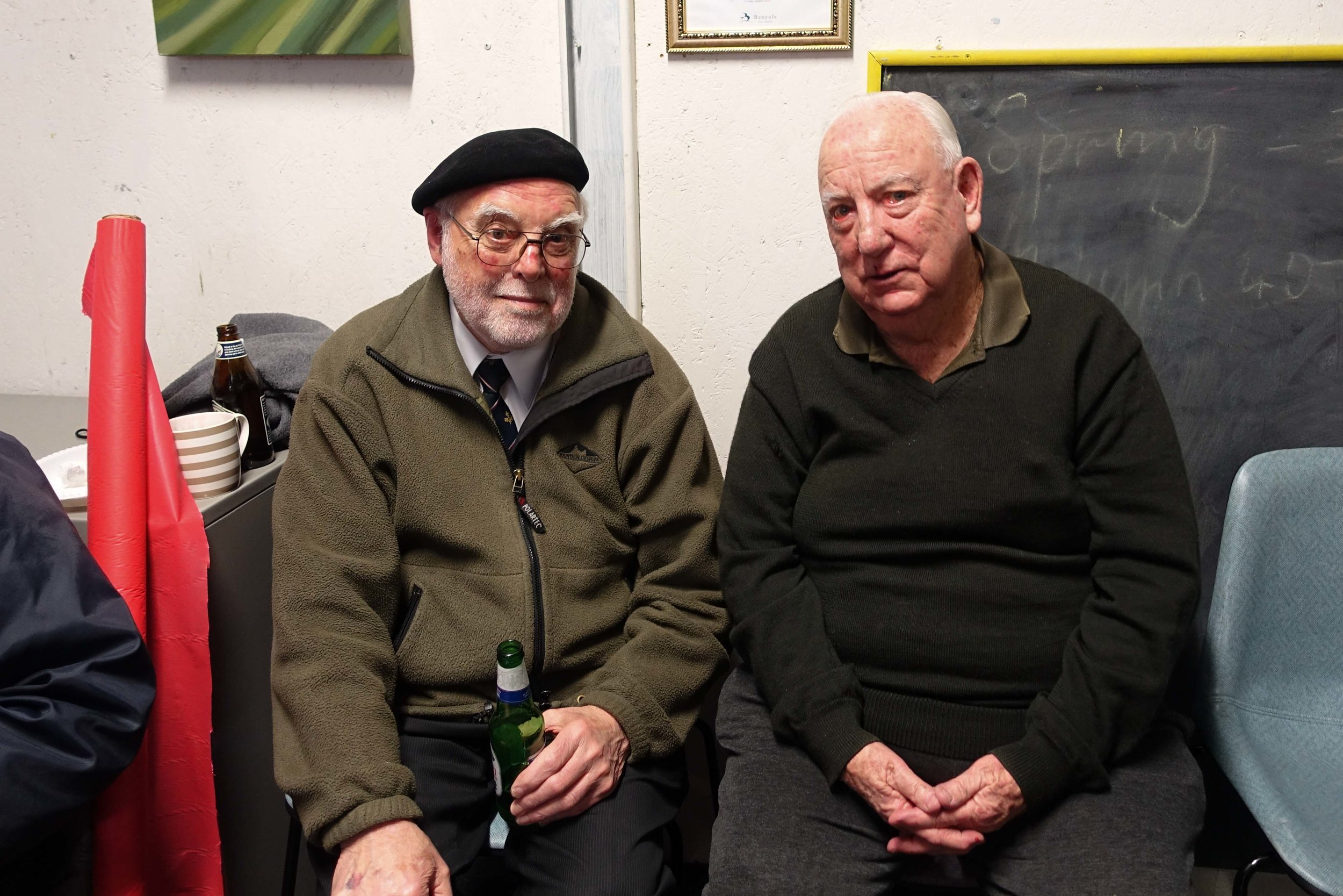 Br. Peter Howes and Br. Bill Dillon