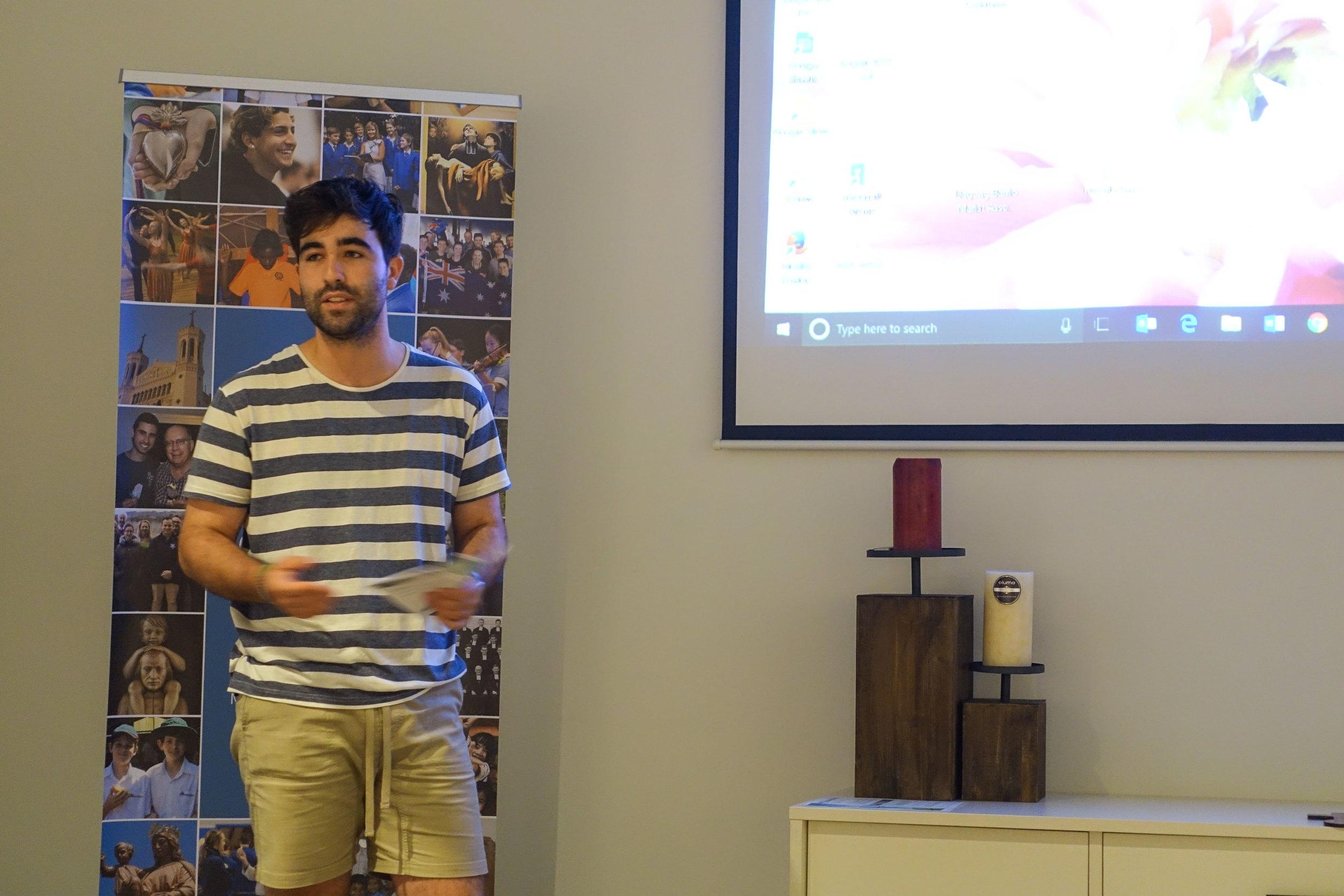 Jack Stammers presents the Santa Teresa school holiday programme
