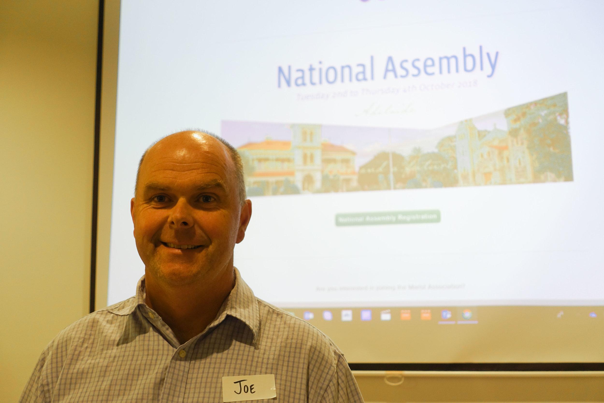 Our Deputy Leader - Joe McCarthy