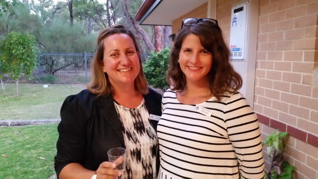 Lisa Fogliani and Katie Lynch