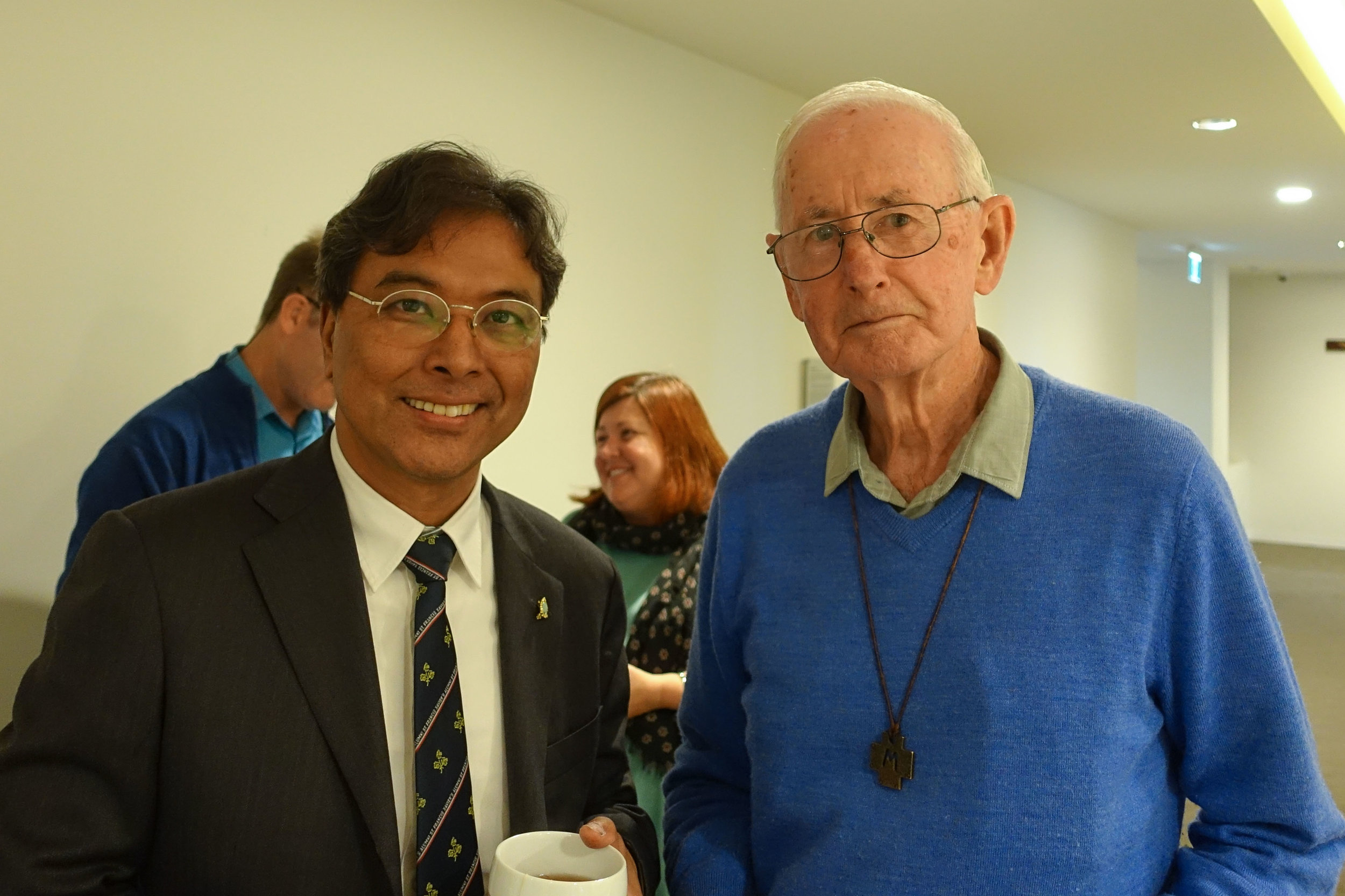 Spes Stanley Ku and Br Barry Lamb