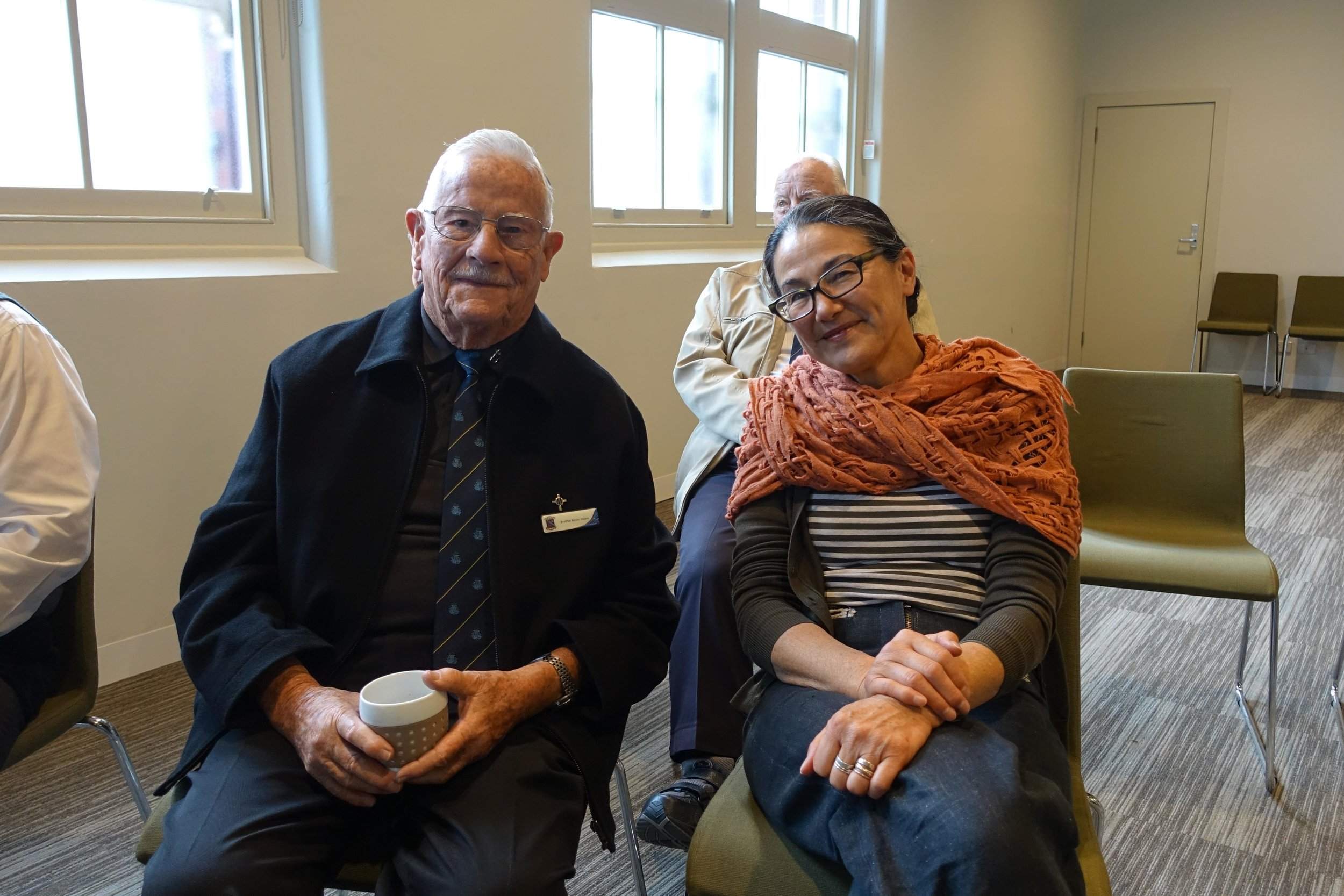 Br Kevin Hoare and May Lam