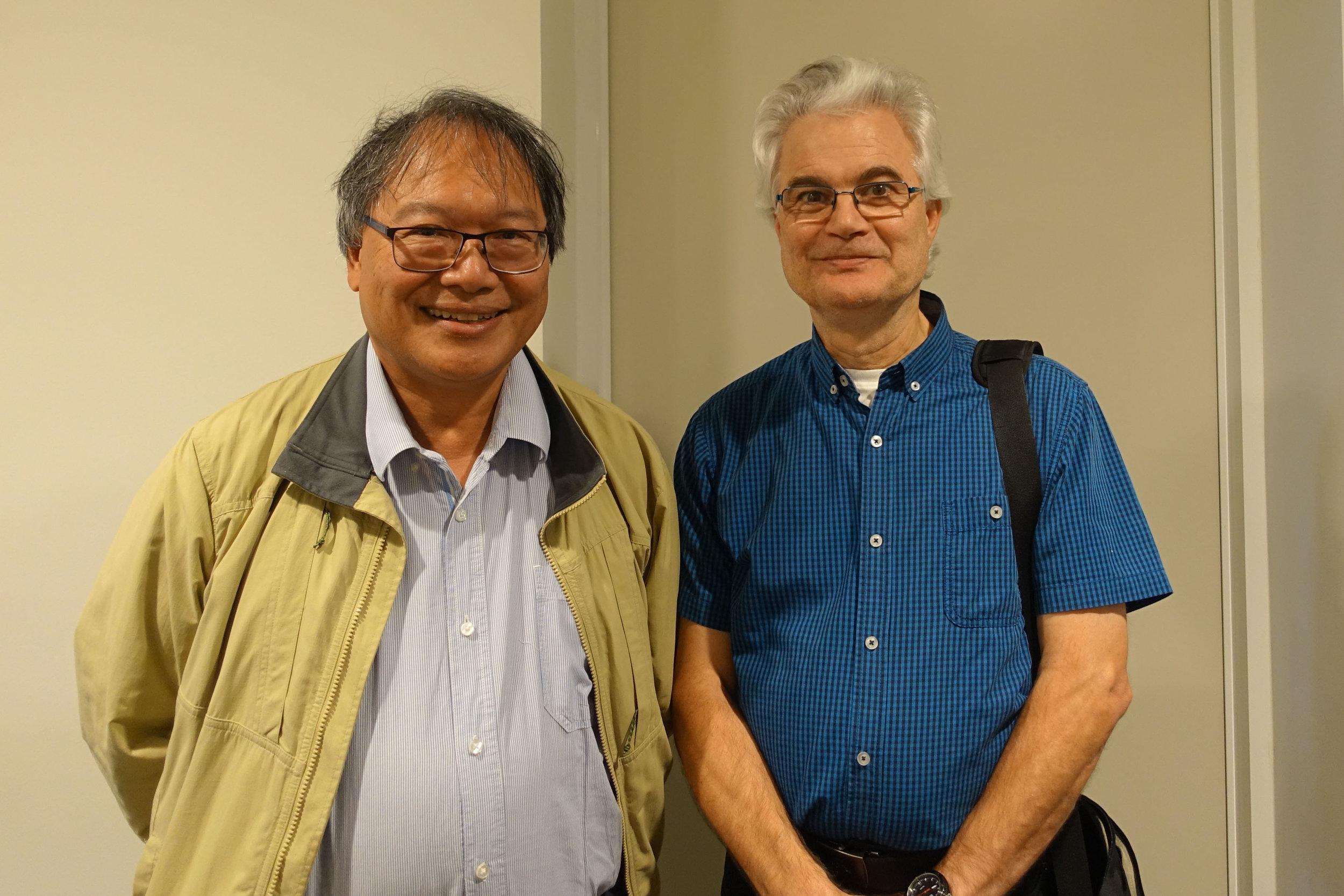 Augustine Ignatius Doronila and Freddy