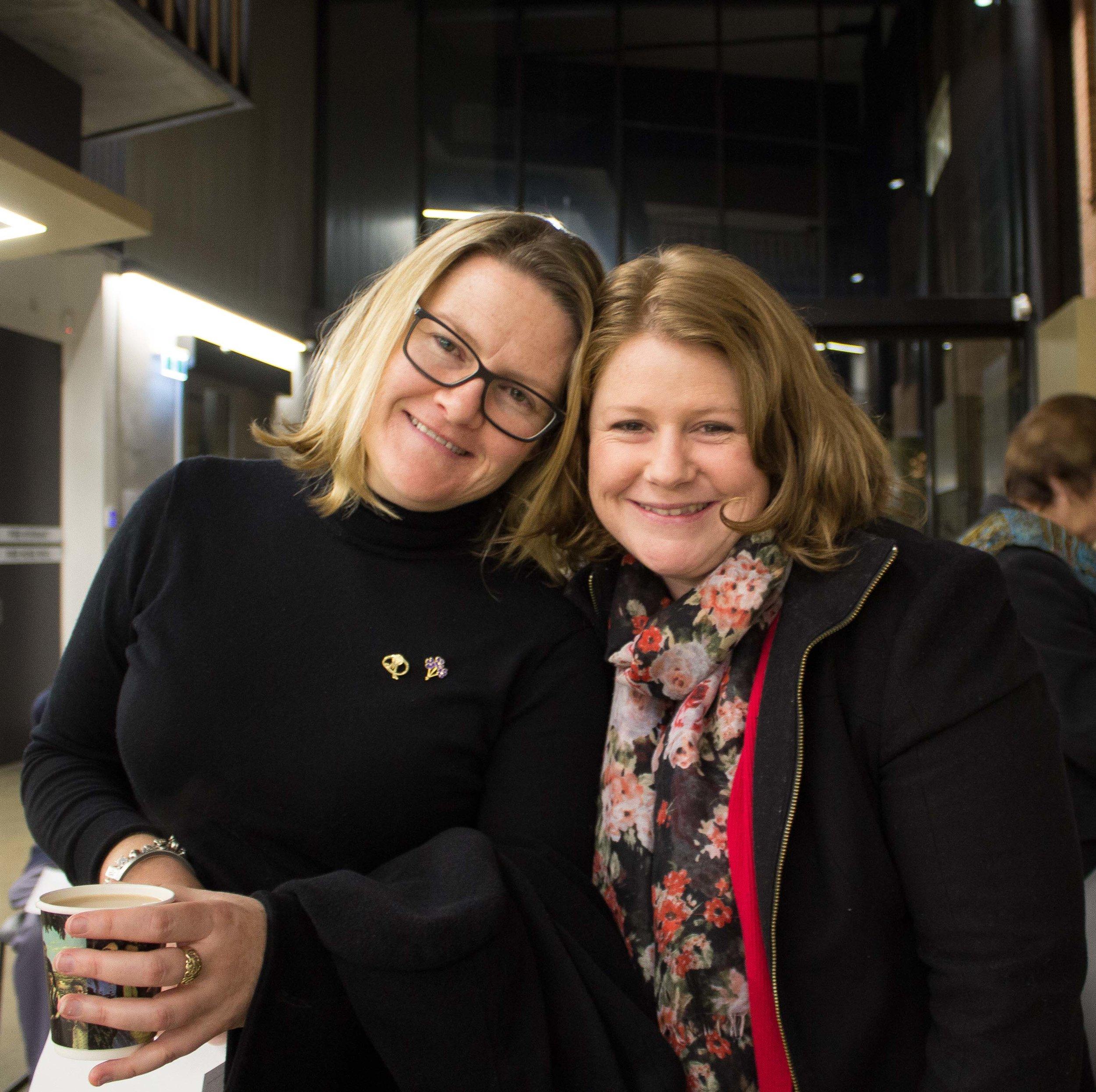Carolyn and Liz