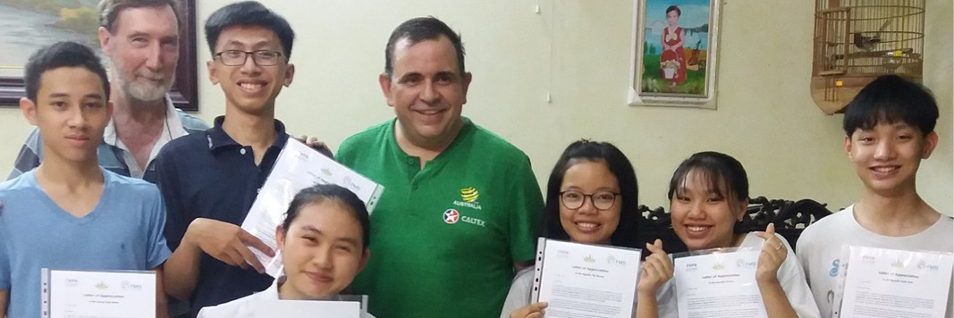 You Are Needed!    Communities:  New Horizons & Sunrise Projects, Vietnam  Volunteer:  All Marists welcome  July 2019