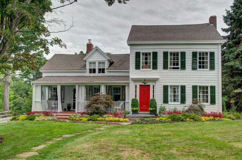 "Housed in this circa 1835 manse belonging to Cutchogue Presbyterian is T he North Fork Designer Show House.   The  Allegra Collection  is proud to be one of the interior designers selected to design a room along with 30 other designers. The show house opens Aug. 14th 2015 with a Gala event and will be open to the public every Thursday through Sunday until Sept. 7th.   The designers have been discouraged from posting pictures of their rooms until after the show house opens. I'm including some ""before"" shots of our room so you can see the challenge that we faced! Stay tuned for the ""afters"" or better yet, come see the results in person!"