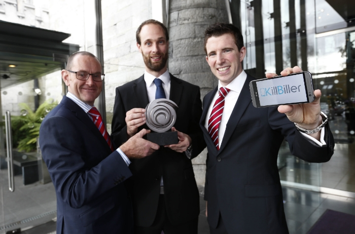 Bart & Ciaran at the InterTrade Seedcorn Regional Final