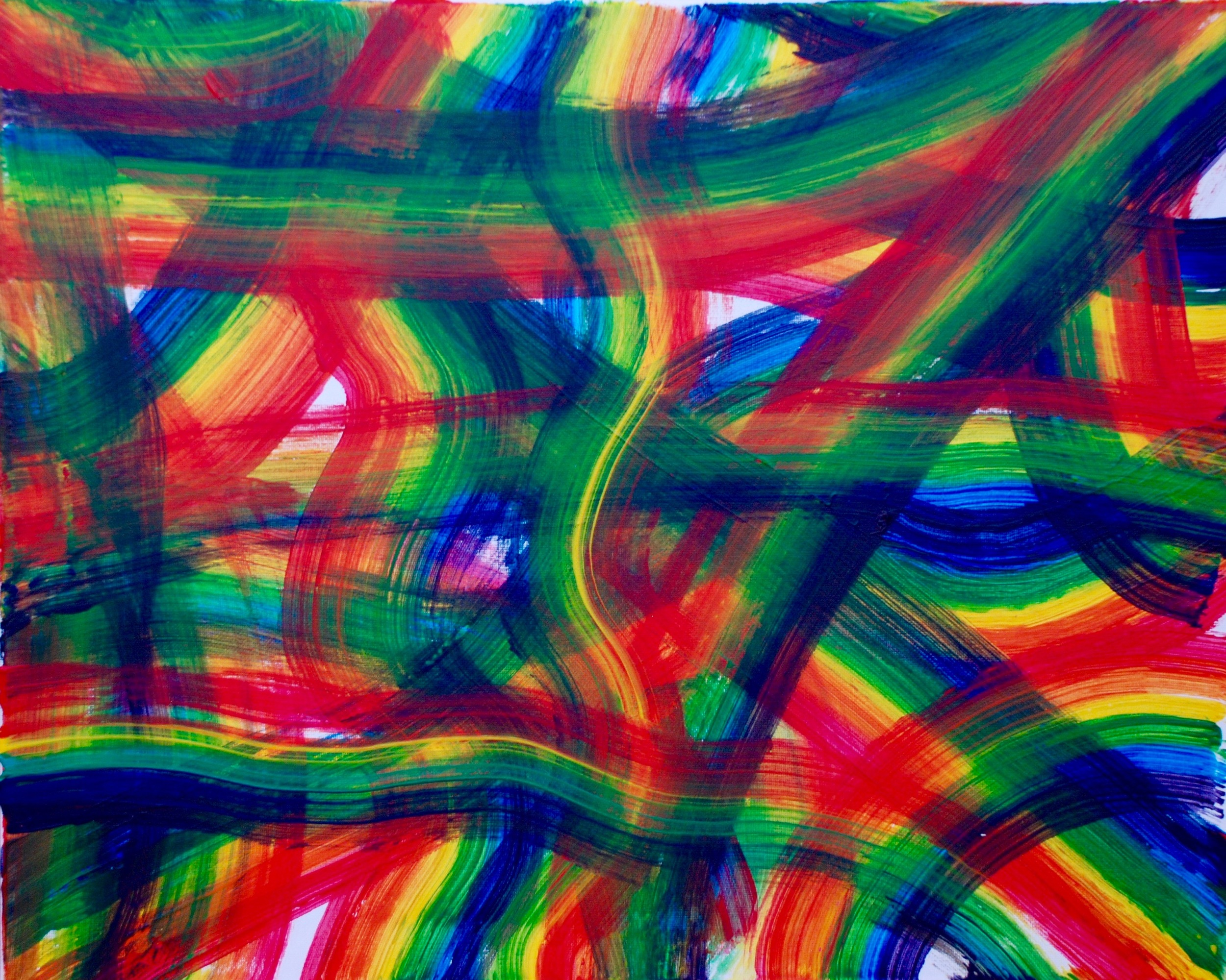 VII: Fouillis d'arcs-en-ciel, pour l'Ange qui annonce la fin du Temps