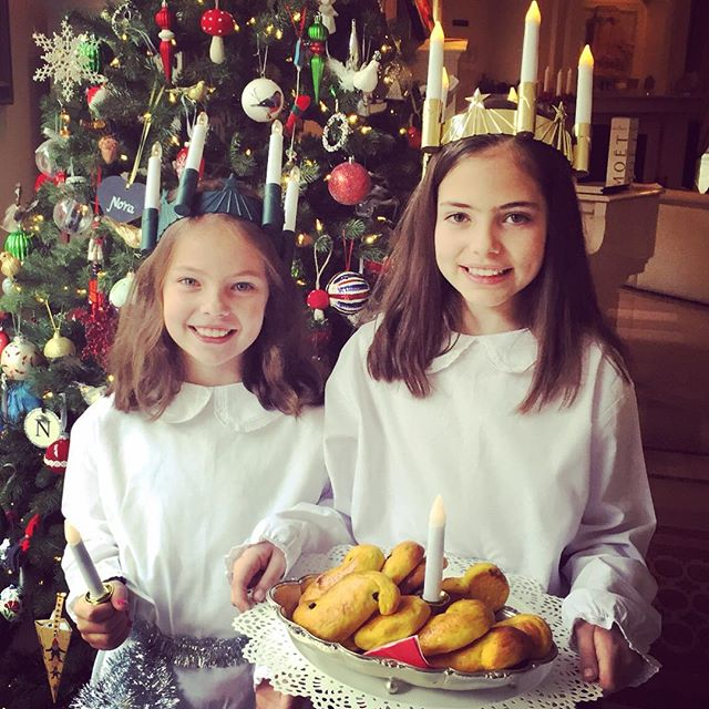 Sainta Lucia came to Sydney! One of my most favourite Christmas traditions now passed onto my beautiful girls. Thankyou @maudgazal for keeping the tradition alive. #swedishchristmas #saintalucia2015 #christmasinsydney #celebratethemoments