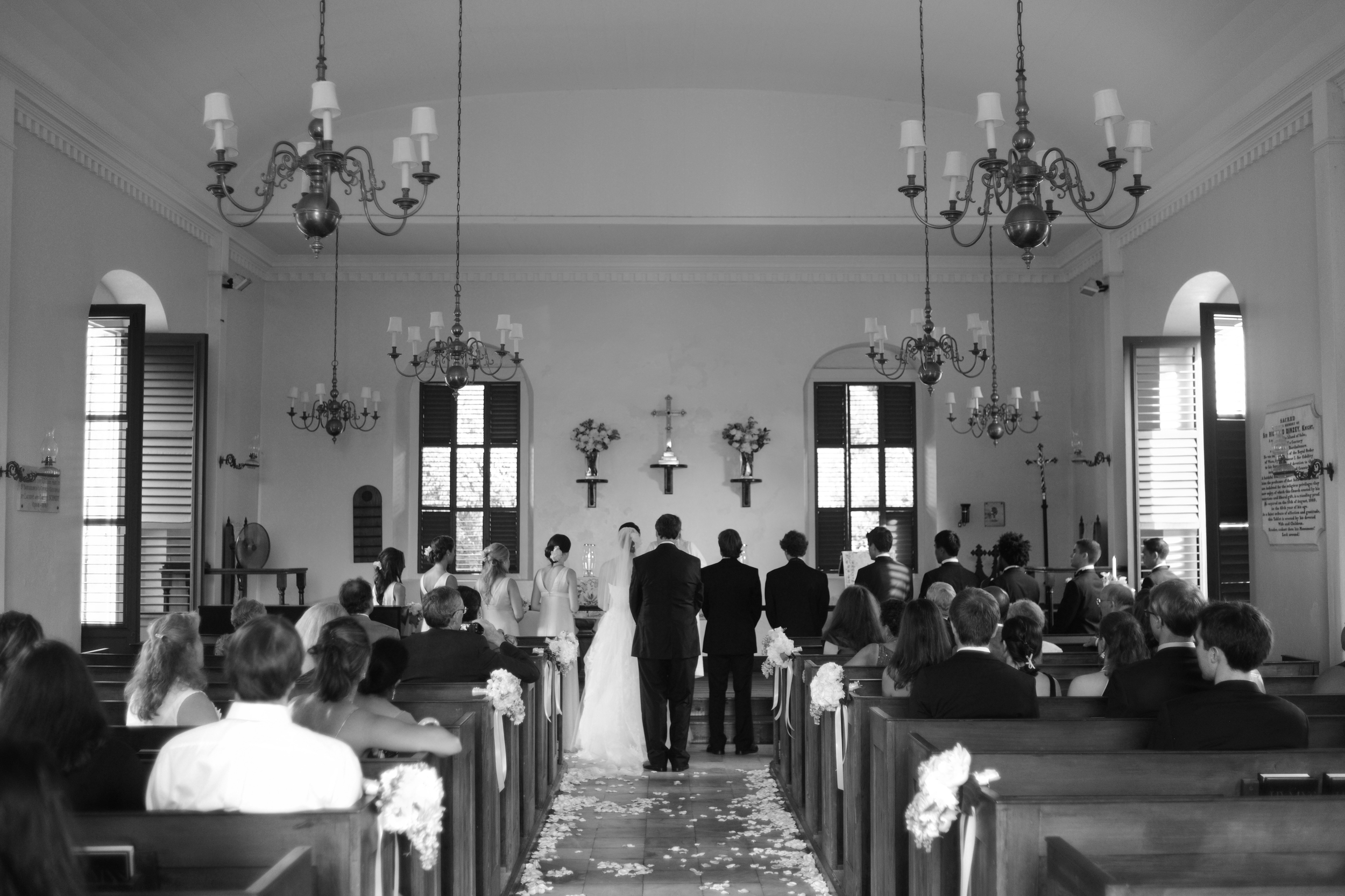 St Barths Anglican Church Wedding