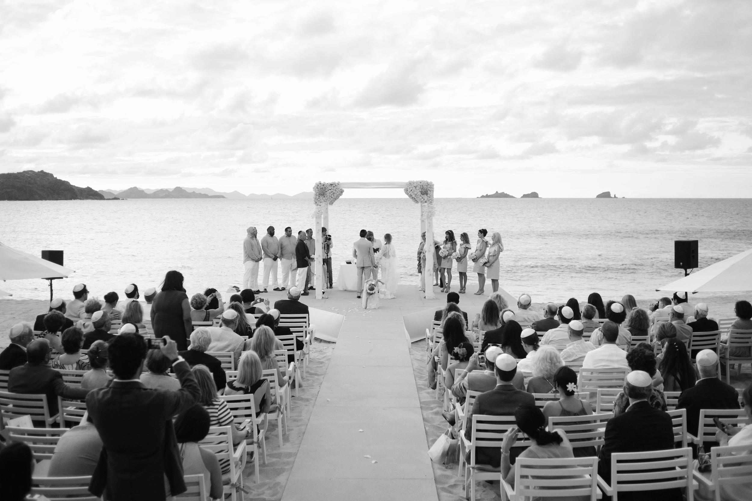 Taiwana Hotel St Barths. Beach Wedding. Flamands Beach.