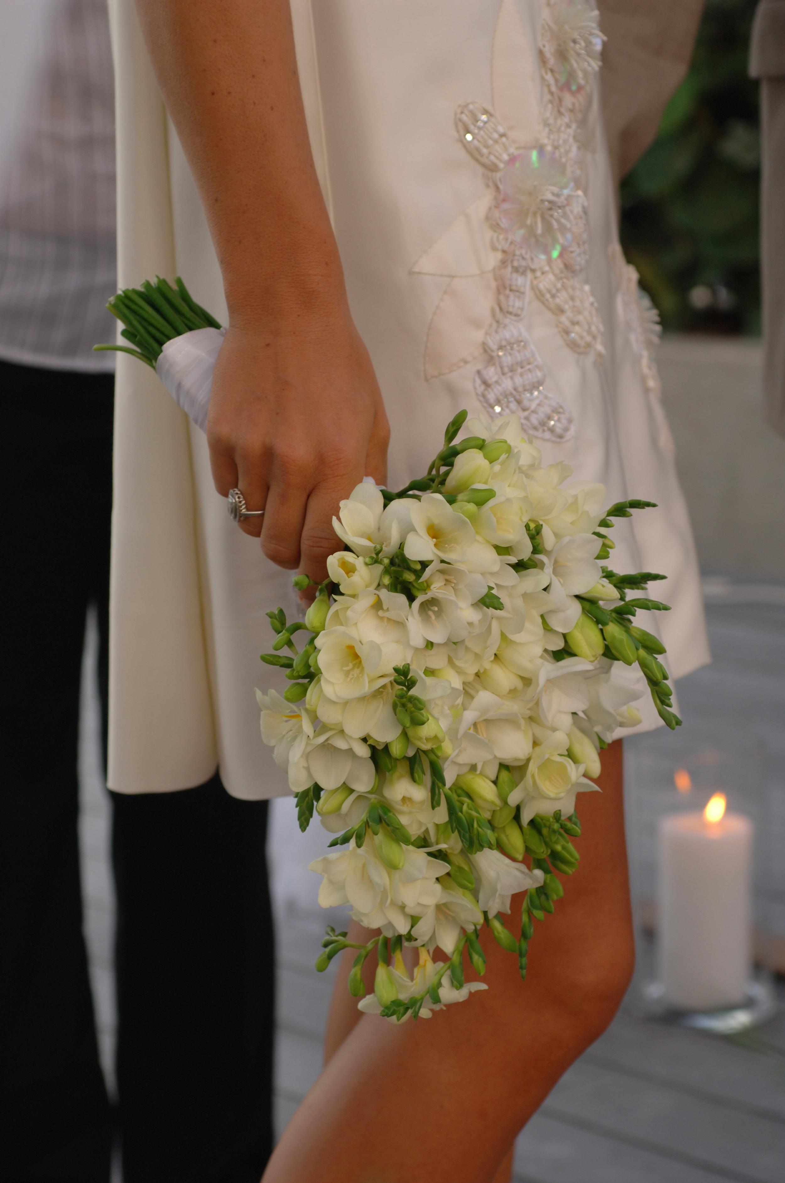 St Barths Wedding Bouquet. Beach Wedding. Wedding Planner.