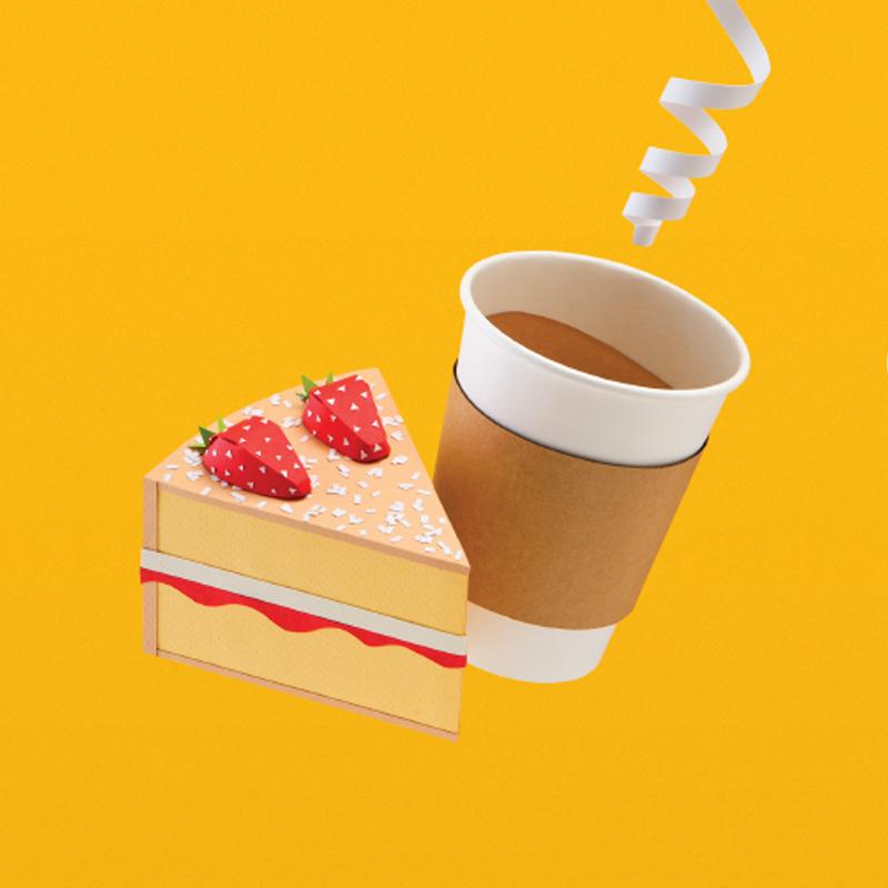 Jamhot_St Enoch_Coffee cake paper model_Eleanor Stewart.jpg