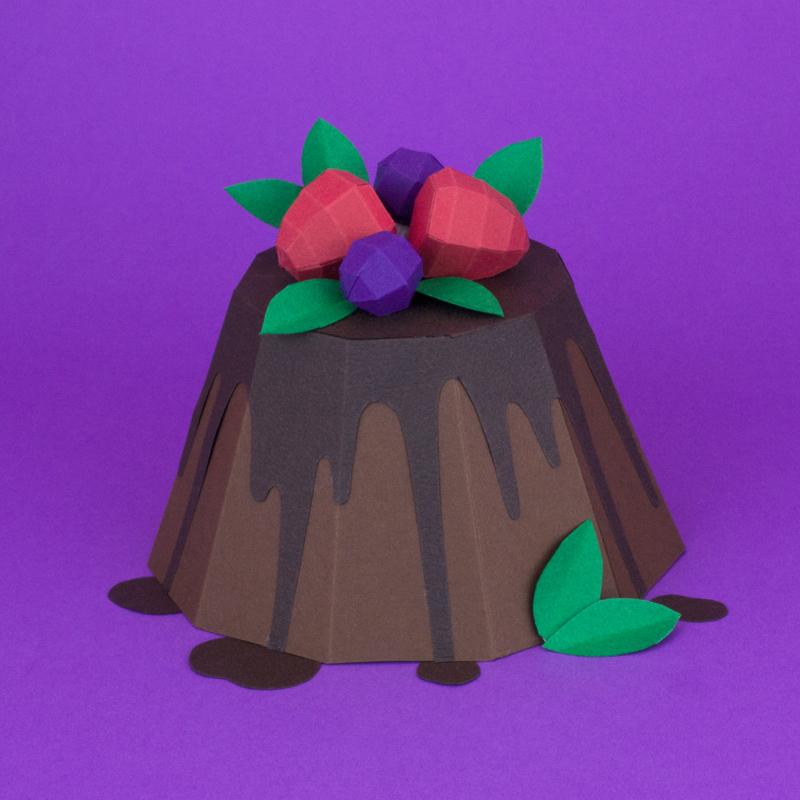 Paper Food  - Paper Models