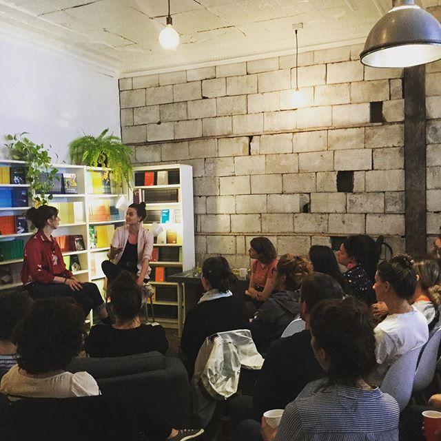 Rencontre Atelier 10 avec Fanny Britt = salle comble.