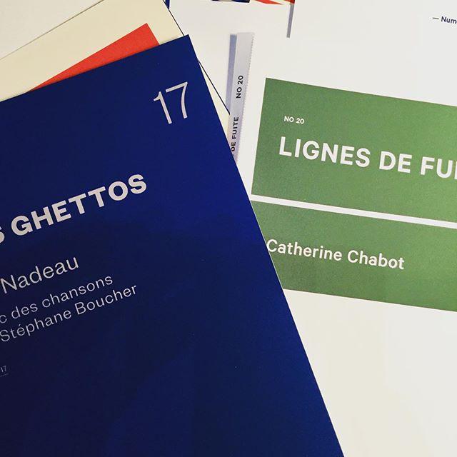 On travaille à la nouvelle couverture de notre collection Pièces, avec @alachapelle.