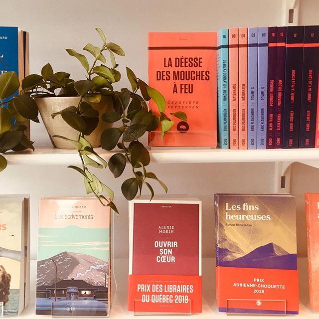 Le 12 août, c'est la journée «j'achète un livre québécois»! Passez nous voir à la boutique, nous avons une très belle sélection! #12aout #livres #littérature #littératurequébécoise #librairies #boutiqueatelier10
