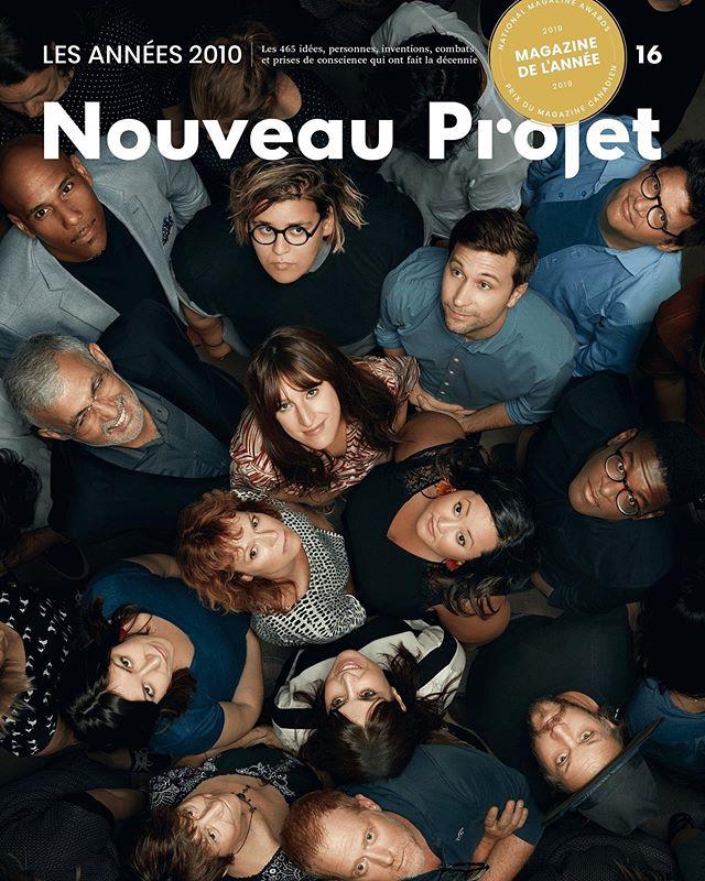 La couverture du prochain numéro de Nouveau Projet, en kiosque le 10 septembre. #NP16