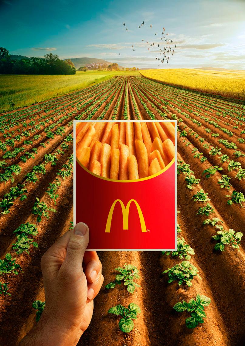 McDonald France    © sue atkinson