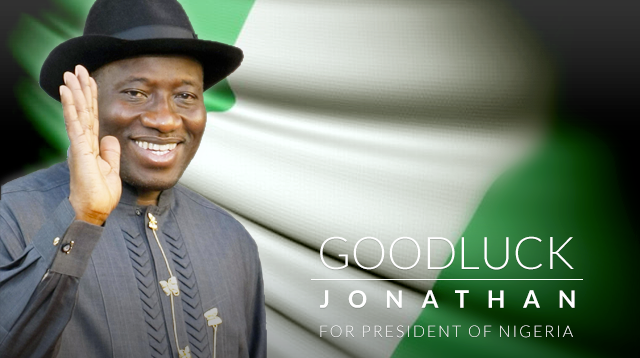 Copy of Goodluck Jonathan - President of Nigera (PDP)