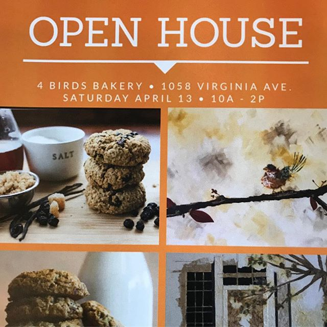 Don't miss out on our favs @4birdsbakery open house 🤗🍪 #indy #localtreats #shoplocal