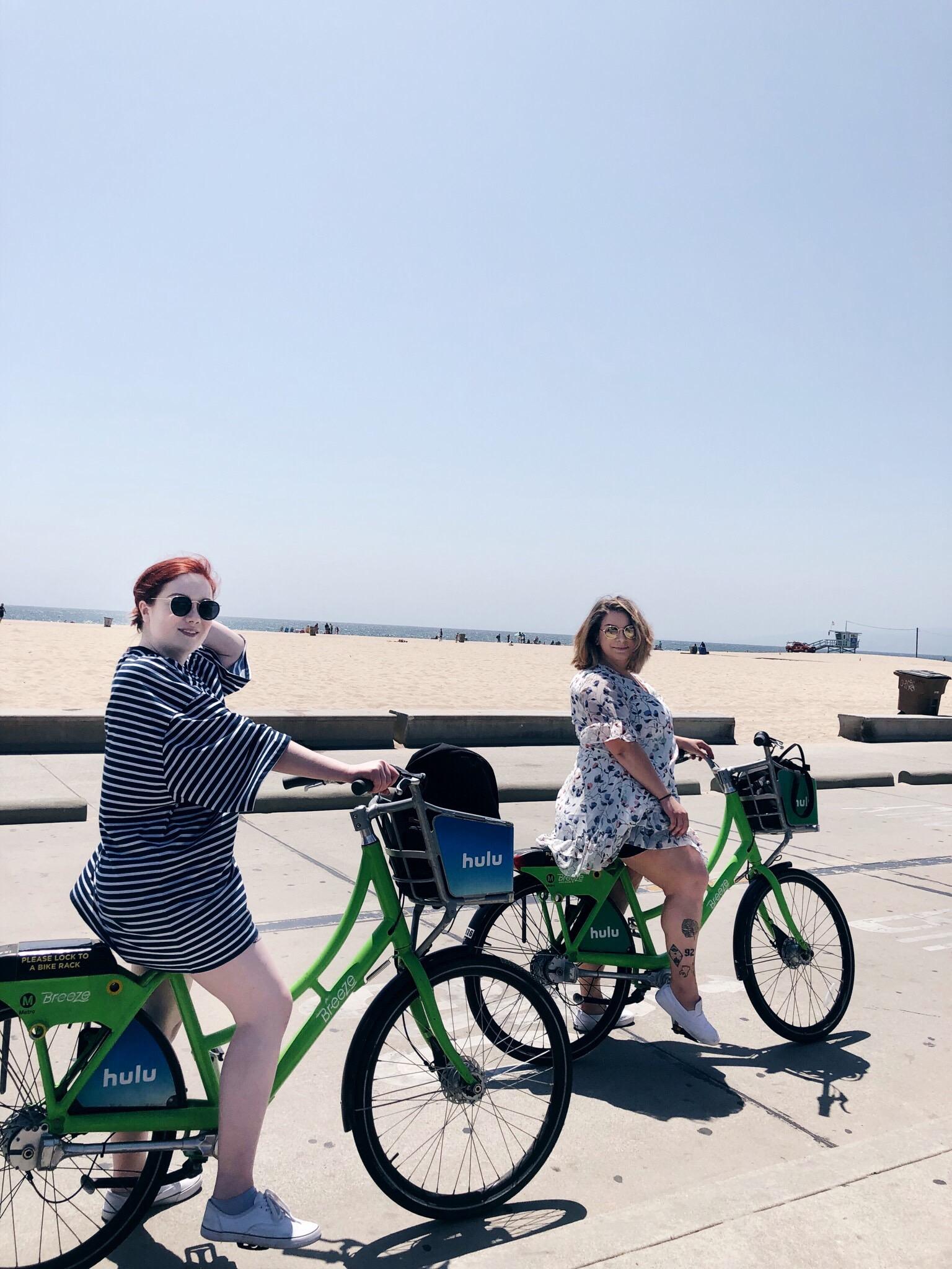 Bikes in Venice!