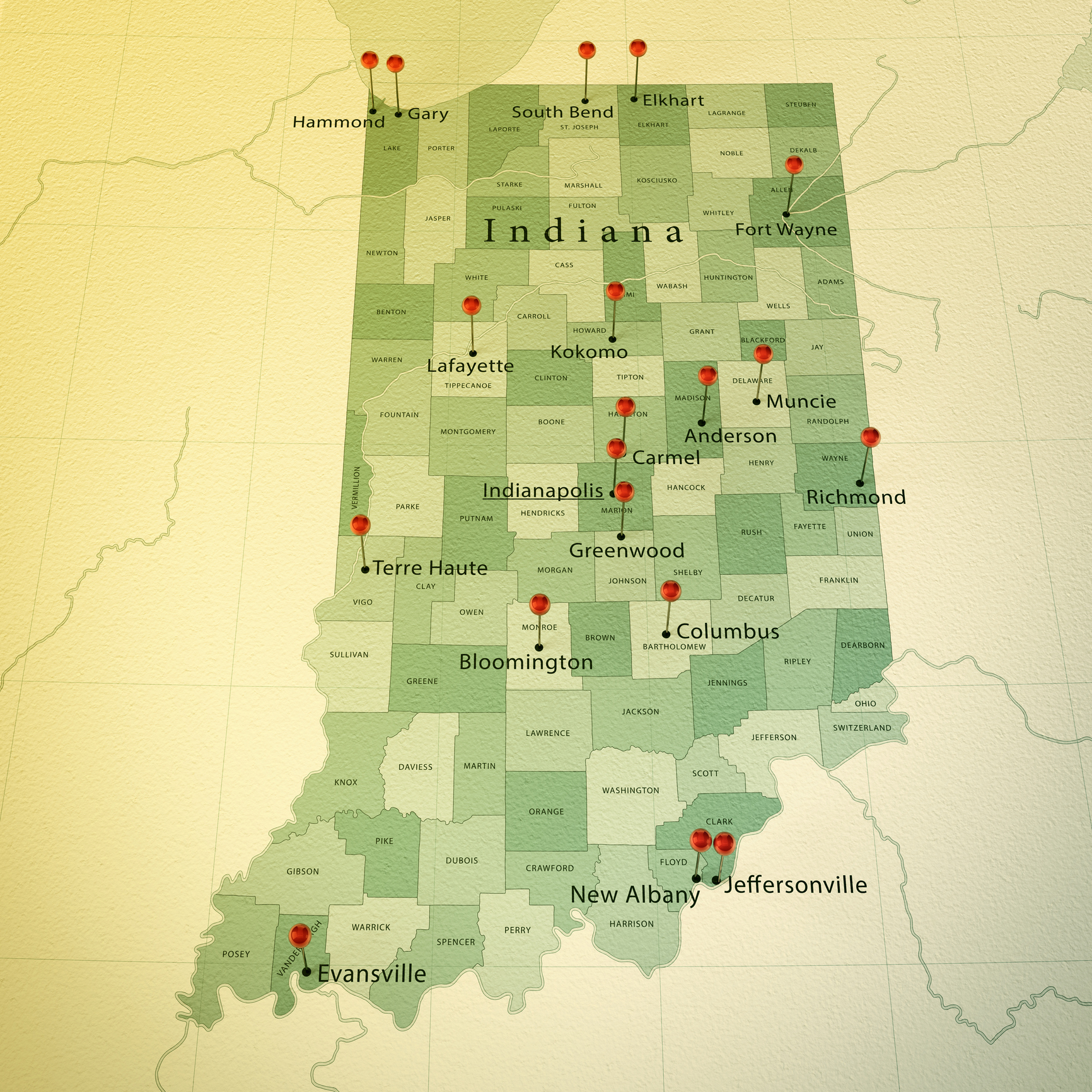 PHENIX works in over 15 cities in Indiana and all 50 states.
