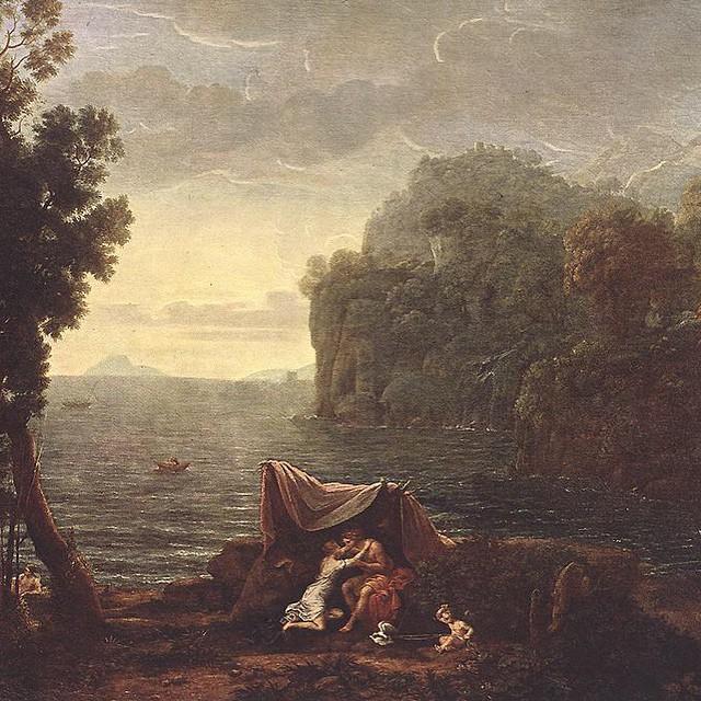 Claude Lorraine, Landscape with Acis and Galatea (1657)