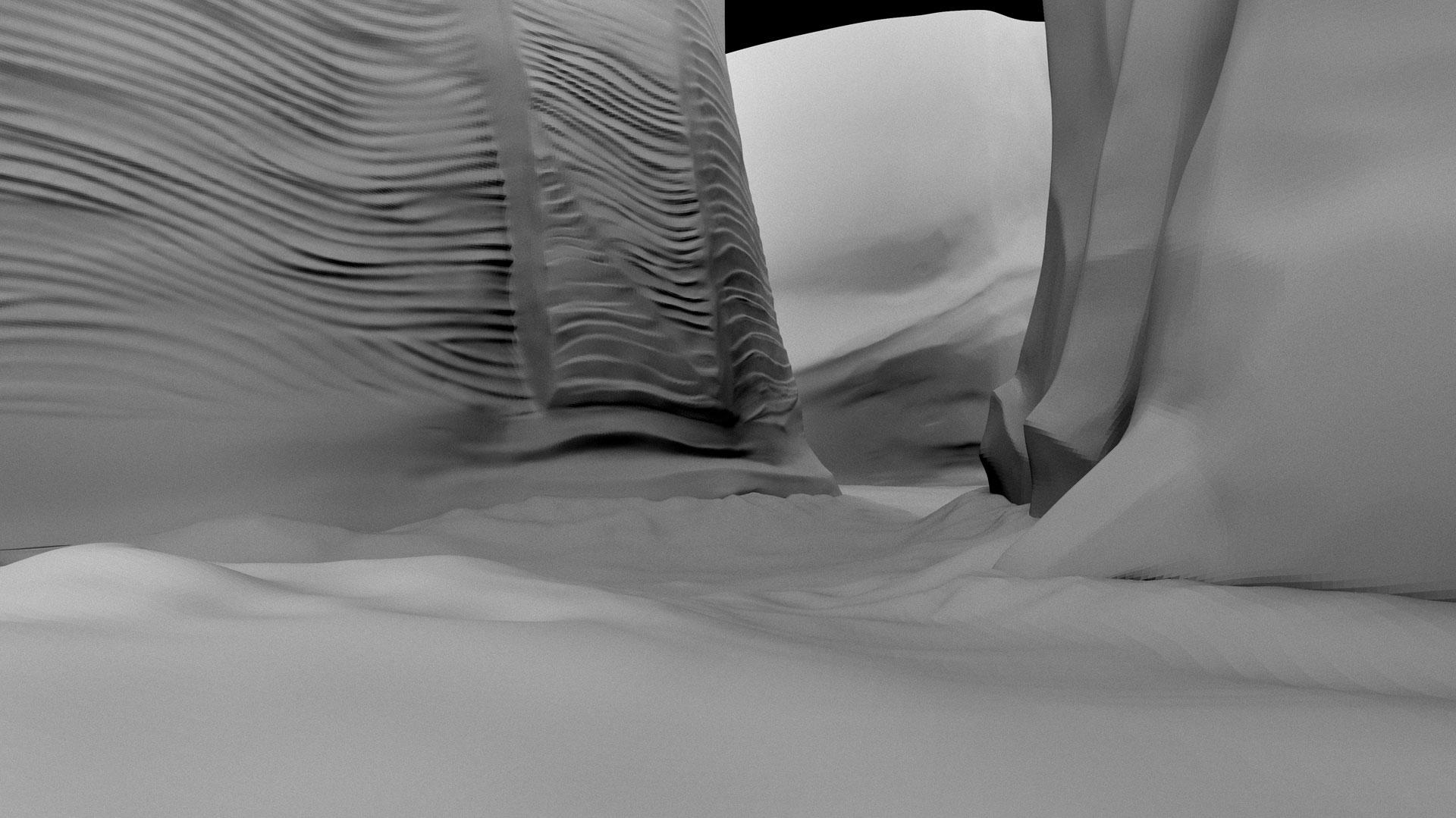 Studio provided   3D geometry  .