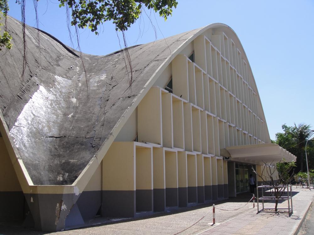 Auditorium Hall at Royal University of Phnom Penh